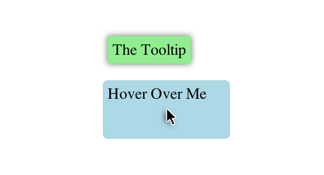 Pure CSS Tooltip