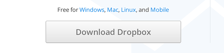 Dropbox Download Button